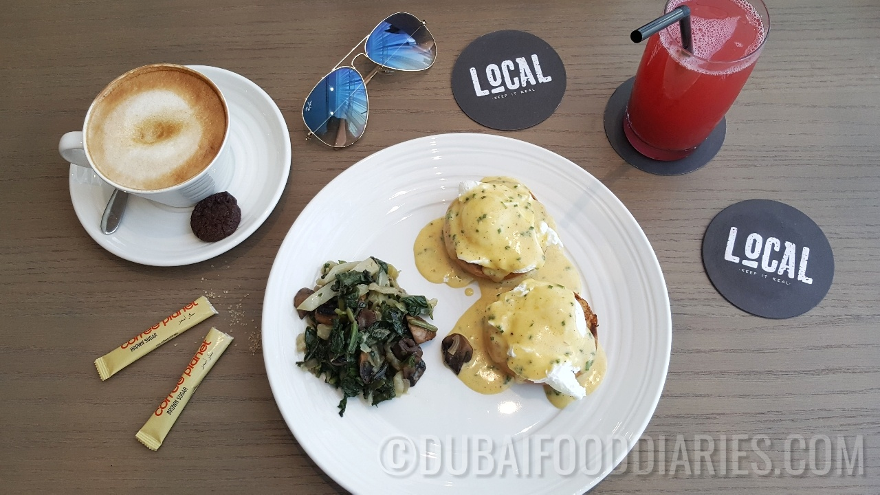 Lazy breakfast at Local, TRYP by Wyndham